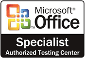 MOS certified testing center